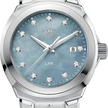 TAG Heuer Link Lady Steel 32mm Mother of pearl No numerals United States of America, New York, Bellmore