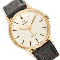 Omega Genève Yellow gold 34mm White No numerals United Kingdom, London