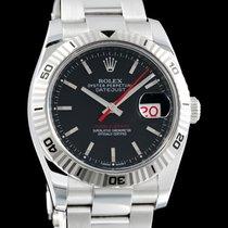 Rolex Datejust Turn-O-Graph nuovo 2015 Automatico Orologio con scatola e documenti originali 116264