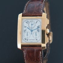 Cartier 1830 Yellow gold 2000 Tank Française 28mm pre-owned