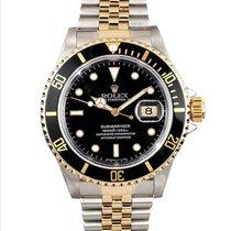Rolex 16613 Acier 1995 Submariner Date 40mm occasion