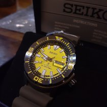 Seiko Monster Steel Yellow