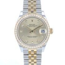 Rolex Datejust 278383RBR New Gold/Steel 31mm Automatic