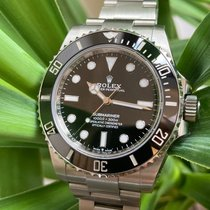 Rolex Submariner (No Date) Steel 41mm Black No numerals United Kingdom, London