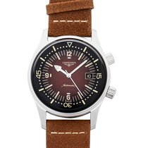 Longines Legend Diver Steel 42.00mm Brown