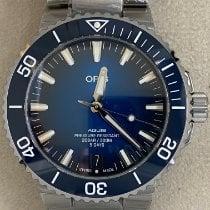 Oris Steel Automatic Blue No numerals 43.50mm new Aquis Date