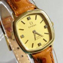 Omega De Ville Gold/Steel 23mm Gold No numerals United Kingdom, Tamworth
