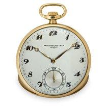 Patek Philippe Horloge tweedehands 1925 Geelgoud 46mm Arabisch Handopwind Alleen het horloge