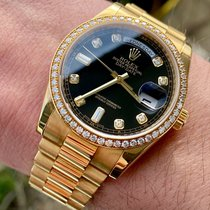 Rolex Day-Date 36 Yellow gold 36mm Black United States of America, Texas, Houston