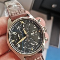IWC Pilot Spitfire Chronograph IW387903 New Steel 41mm Automatic Malaysia