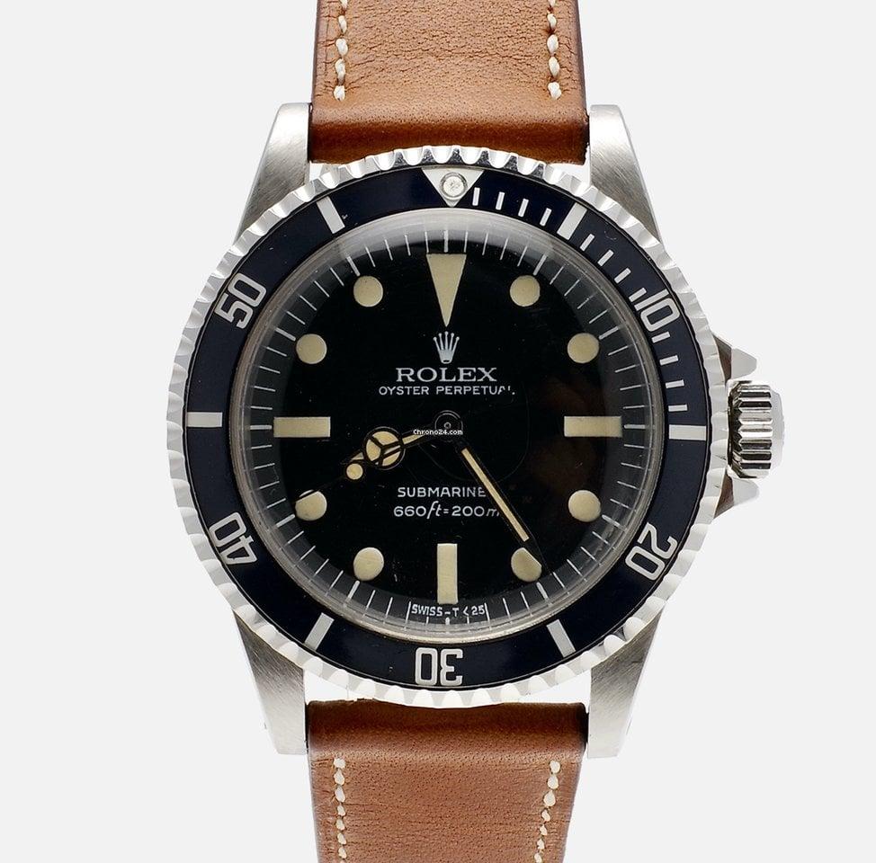 Rolex Submariner (No Date) 5513 1979 подержанные