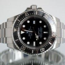 Rolex Sea-Dweller Deepsea Steel 44mm Black No numerals United Kingdom, Newcastle Upon Tyne