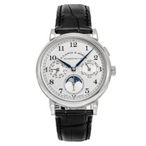 A. Lange & Söhne 1815 White gold 40mm Silver United States of America, Connecticut, Greenwich