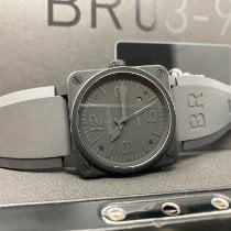 Bell & Ross Ceramic 42mm Automatic BR0392-PHANTOM-CE pre-owned