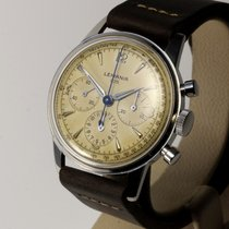 Lemania Steel 35mm Manual winding 805 A pre-owned