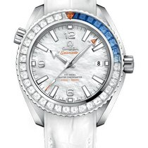 Omega Seamaster Planet Ocean White gold 39.5mm Mother of pearl