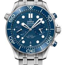 Omega Seamaster Diver 300 M Acier 44mm Bleu
