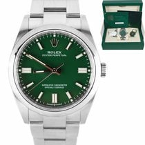 Rolex Oyster Perpetual 36 Steel 36mm Green United States of America, New York, Massapequa Park