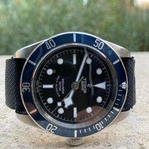 Tudor Black Bay Ocel 41mm Černá Bez čísel