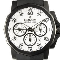 Corum Admiral's Cup Challenger Acero 42.5mm Blanco