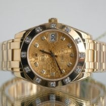 Rolex Pearlmaster Yellow gold 34mm Gold Roman numerals United Kingdom, Newcastle Upon Tyne