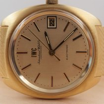 IWC Yellow gold 37mm Quartz 9601 pre-owned