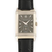 Jaeger-LeCoultre White gold Manual winding Black 26mm pre-owned Reverso (submodel)