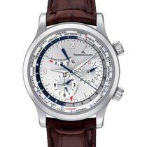 Jaeger-LeCoultre Master World Geographic Stahl 41.5mm Silber