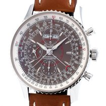 Breitling Montbrillant Datora A21330 Very good Steel 43mm Automatic