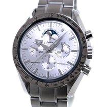 Omega Speedmaster Professional Moonwatch Moonphase Or/Acier 42mm Argent