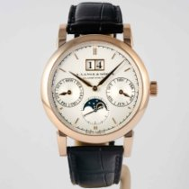 A. Lange & Söhne Saxonia Rose gold 38.5mm Silver United States of America, Massachusetts, Boston