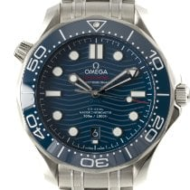 Omega Seamaster Diver 300 M Steel 42mm Blue