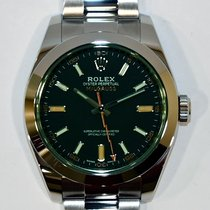 Rolex Milgauss Acero 40mm Negro Sin cifras España, Madrid