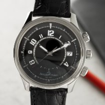 Jaeger-LeCoultre Steel Automatic Black 42mm pre-owned AMVOX