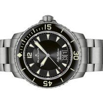 Blancpain Fifty Fathoms Titanium 45mm Black No numerals United States of America, Florida, Aventura