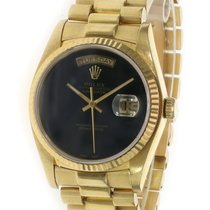 Rolex Day-Date 36 Yellow gold 36mm Black No numerals United States of America, California, Los Angeles