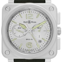 Bell & Ross BR 03-94 Chronographe Acero 42mm Gris España, Madrid