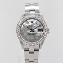 Rolex 69160 Steel Oyster Perpetual Lady Date 26mm pre-owned United States of America, New York, New York