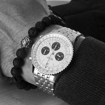 Breitling Navitimer 1 B01 Chronograph 43 Сталь 43mm Cеребро Без цифр