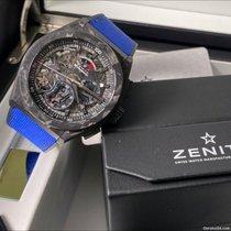 Zenith Carbon Automatic Transparent No numerals 44mm new Defy El Primero