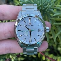 Seiko pre-owned Automatic 39mm Silver Sapphire crystal