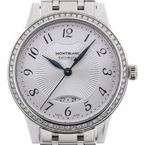 Montblanc Steel 37mm Automatic 111214 new