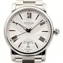 Montblanc Steel 42mm Automatic 114852 new