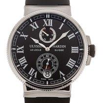 Ulysse Nardin Automatic Black 43mm new Marine Chronometer Manufacture