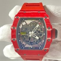 Richard Mille RM 035 Carbon 49.94mm Transparent Keine Ziffern