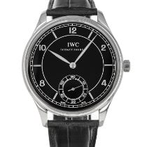 IWC Portuguese Hand-Wound IW544501 Very good Steel 44mm Manual winding United States of America, Maryland, Baltimore, MD