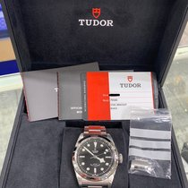 Tudor Black Bay 41 pre-owned 41mm Black Steel