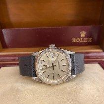 Rolex Day-Date 36 Oro bianco 36mm Argento Senza numeri Italia, avellino