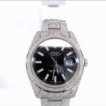 Rolex 116300 Steel 2014 Datejust II 41mm pre-owned United States of America, New York, New York