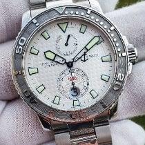 Ulysse Nardin Maxi Marine Diver Steel 43mm Silver Arabic numerals United States of America, Indiana, Valparaiso